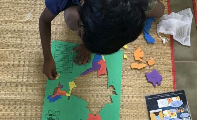 Indian Map DYI