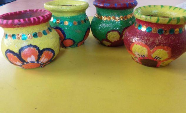 Pot Colouring